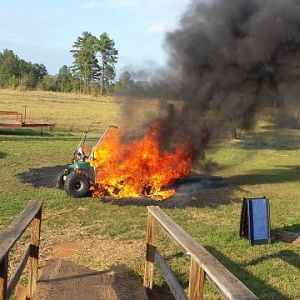 Club Car Fire