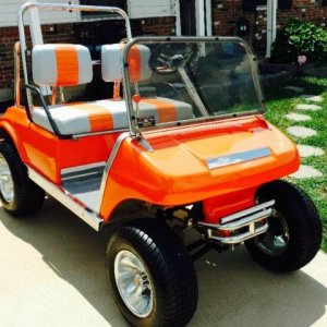 Lithium Ion Powered Club Car