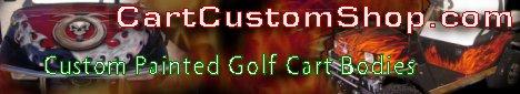 Custom Cart Shop | Custom Golf Cart Paint Work